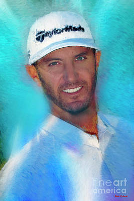 Photograph - Dustin Johnson  by Blake Richards