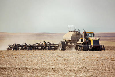 Photograph - Dusty, Dirty Drilling by Todd Klassy