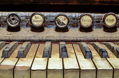 Dusty Old Keyboard Art Print
