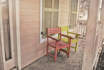 Photograph - Dusty Porches by JAMART Photography