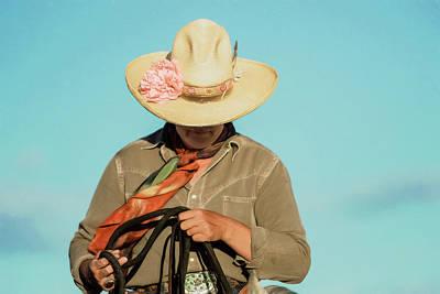 Western Art Photograph - Dusty Rose by Pamela Steege