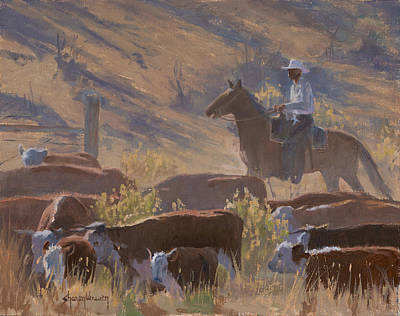 Painting - Dusty Trail by Sharon Weaver