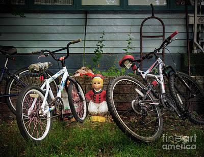Photograph - Dutch Boy's Bicycles by Craig J Satterlee