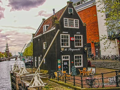 Photograph - Dutch Cafe by Rick Bragan