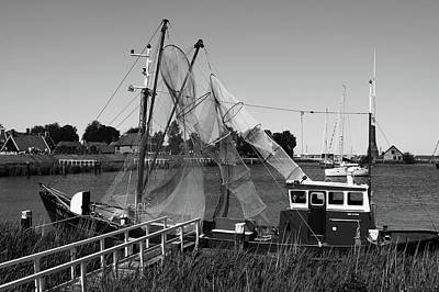Photograph - Dutch Fishing Trawler by Aidan Moran