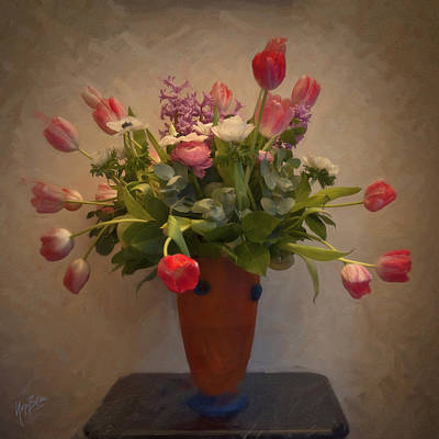 Photograph - Dutch Flowers Blooming by Nop Briex
