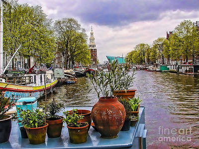 Photograph - Dutch Garden On Amstel by Rick Bragan