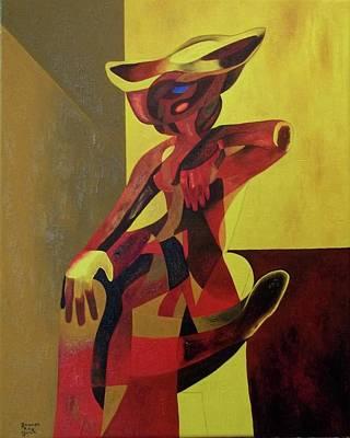 Painting - Dutch Girl Or La Mujer De La Silla by Joseph York