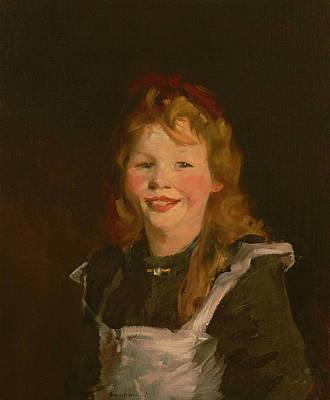 Dutch Girl Art Print by Robert Henri