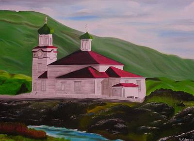 Dutch Harbor Church Art Print