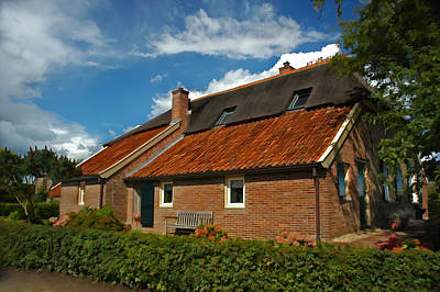 Photograph - A Home In The Netherlands  by Ginger Wakem