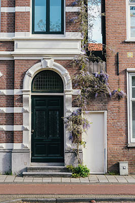 Photograph - Dutch Brick House Entrance by Alexandre Rotenberg