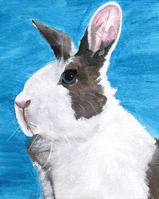 Lagomorphs Painting - Dutch  by Kelly Jay