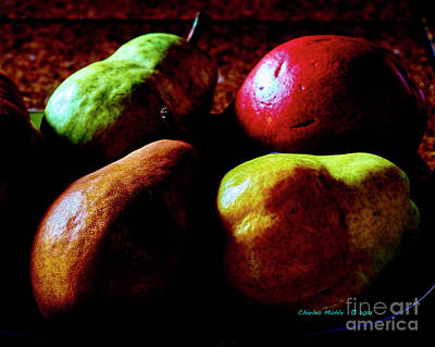 Photograph - Dutch Pears by Charles Muhle