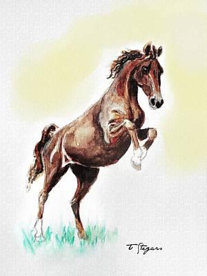 Wall Art - Painting - Dutch Pony by Tarja Stegars