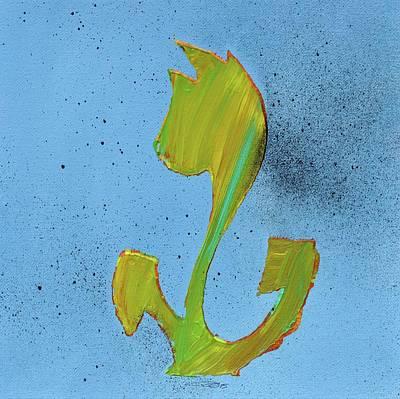 Flowerfield Painting - Dutch Pride Lemongreen by Eduard Meinema