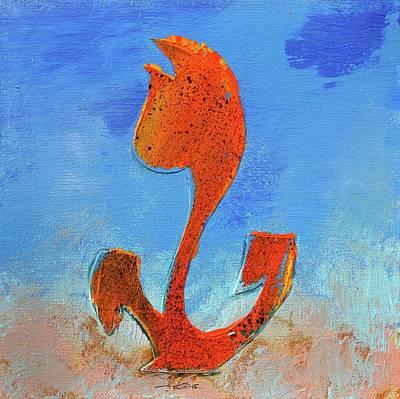Flowerfield Painting - Dutch Pride Orange by Eduard Meinema