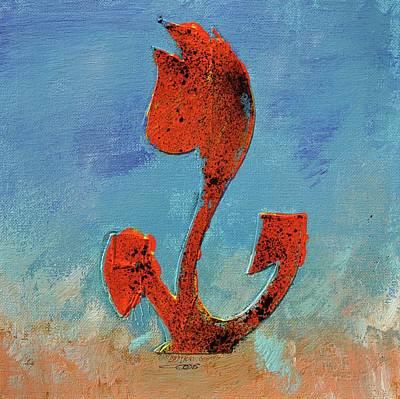 Flowerfield Painting - Dutch Pride Red by Eduard Meinema