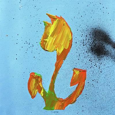 Flowerfield Painting - Dutch Pride Yellow And Orange by Eduard Meinema