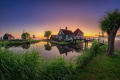 Photograph - Dutch Reflection by Edwin Mooijaart
