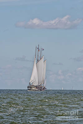 Photograph - Dutch Sailing Ship by Patricia Hofmeester