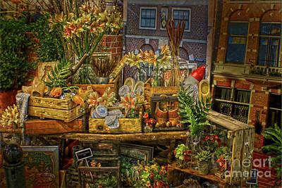 Dutch Shop Art Print