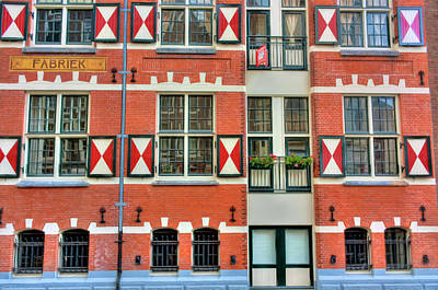 Photograph - Dutch Shutters by Nadia Sanowar