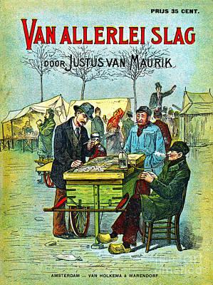 Dutch Smoking Pipes 1881 Art Print by Padre Art