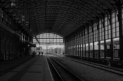 Photograph - Dutch Station by Miguel Winterpacht