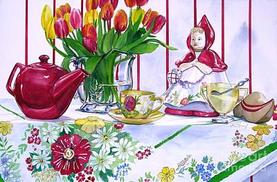 Painting - Dutch Treat by Jane Loveall