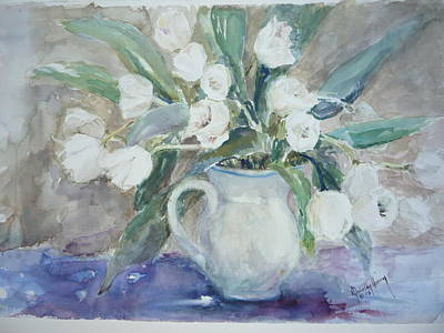 Painting - Dutch Tulips by Dorothy Herron