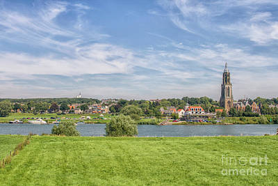 Photograph - Dutch Village Near The Rhine by Patricia Hofmeester