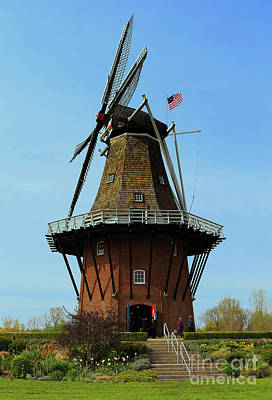 Photograph - Dutch Windmill by Rachel Cohen