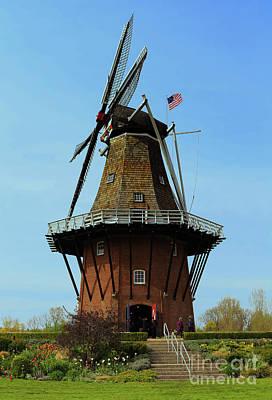 Photograph - Dutch Windmill by Rachel Cohen