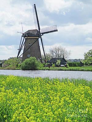 Photograph - Dutch Windmills 36 by Randall Weidner