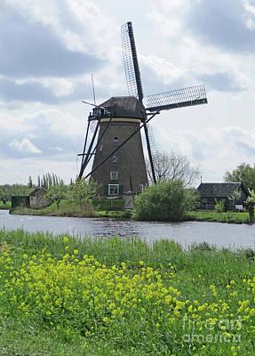 Photograph - Dutch Windmills 39 by Randall Weidner