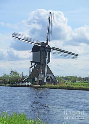 Photograph - Dutch Windmills 50 by Randall Weidner