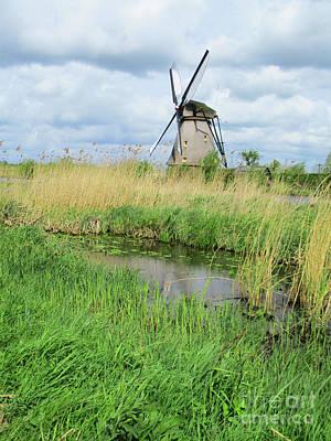 Photograph - Dutch Windmills 62 by Randall Weidner