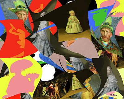 Digital Art - Dutch Winds by David Bridburg