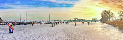 Photograph - Dutch Winter Pleasures by Casper Cammeraat