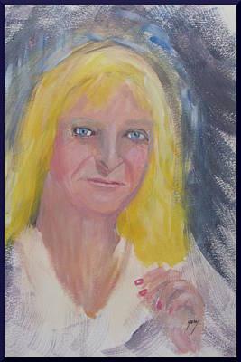 Nederland Painting - Dutch Woman by Gary Kirkpatrick