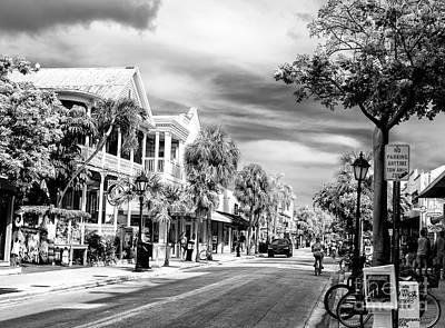 Photograph - Duval Street Key West by John Rizzuto