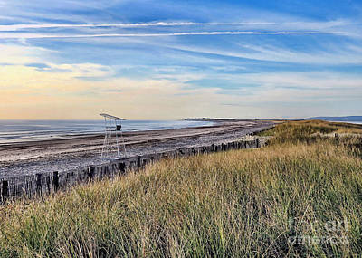 Photograph - Duxbury Beach In September  by Janice Drew