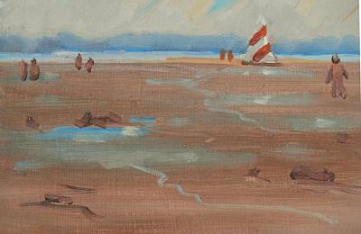 Painting - Duxbury Beach by Len Stomski