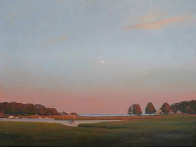 Painting - Duxbury Dusk by Dianne Panarelli Miller