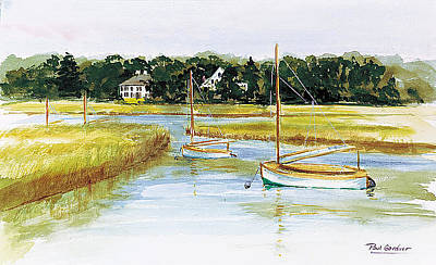 Duxbury Marsh Print by Paul Gardner