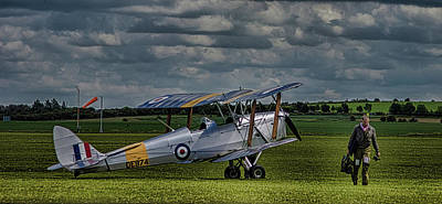 Machinery Photograph - Duxford by Martin Newman