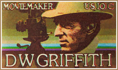 Dw Griffith Art Print by Lanjee Chee