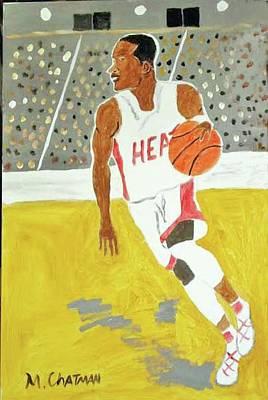 Dwayne Wade Art Print