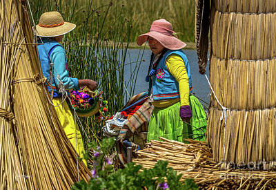 Photograph - Dwellers Of Lake Titicaca Peru by Rene Triay Photography